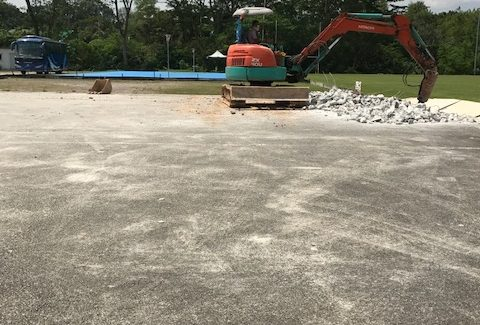 Works at Centaurs Sports Park Could Affect Parking