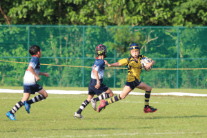 runaway try scored my junior centaurs kid