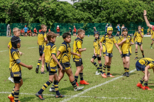 On pitch action for centaurs rugby