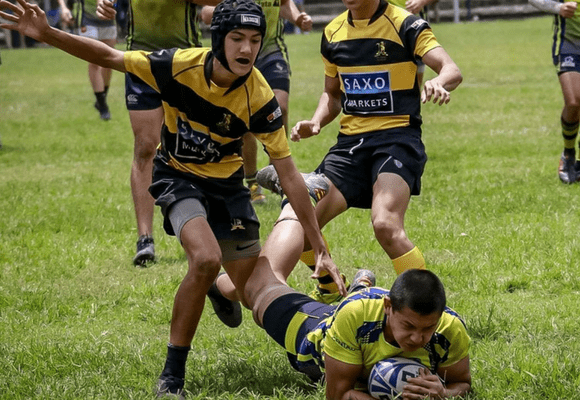 try scorer for centaurs rugby