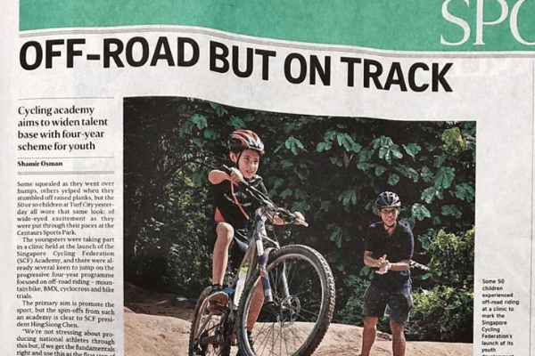 "Singapore Cycling Federation now calls Centaurs ""home"""