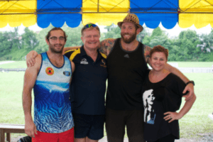 coaching staff at centaurs rugby singapore