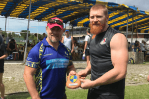 Ed Quirk at centaurs rugby singapore