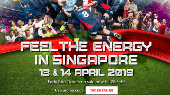 Discount for HSBC Singapore 7s