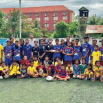 singapore charity touch football in cambodia
