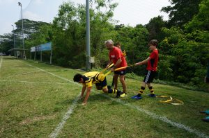 Singapore rugby training