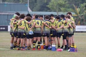 junior rugby team talk