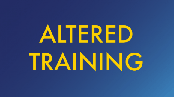 Back to (Altered) Training – Covid-19